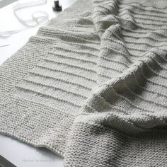 I'm so happy to announce my new blanket knitting pattern - On the Porch . This blanket is very easy to knit and the pattern includes instru...