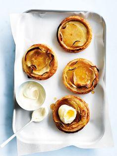apple custard tarts | @andwhatelse