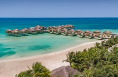 Palafitos Overwater Bungalows at El Dorado Maroma | Mexico's First Overwater Bungalows Are Pretty Spectacular