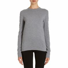 Proenza Schouler Waffle and Fine Gauge Knit Pullover Sale up to 70% off at Barneyswarehouse.com