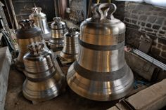 Villedieu les Poêles - Manche - cité du cuivre, fonderie de cloches
