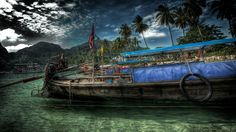 Old Hdr Boat 1366×768 Wallpaper 4752 Jpg