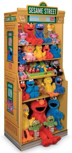 GMG Floor Stand Display For Sesame Street