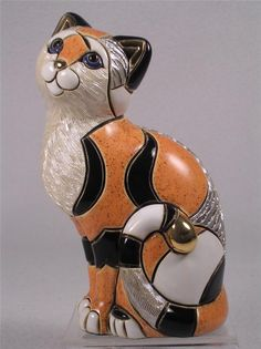 DeRosa Rinconada Family Collection Adult NEW Release 'Calico Cat' F158-NIB!
