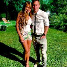 Messi e Antonella em Rosário, cidade natal do craque