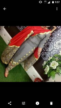 What prize ot this suit Salwar Suits Party Wear, Punjabi Salwar Suits, Punjabi Dress, Pakistani Dresses, Indian Dresses, Punjabi Suits Designer Boutique, Indian Designer Suits, Indian Suits, Embroidery Suits Punjabi