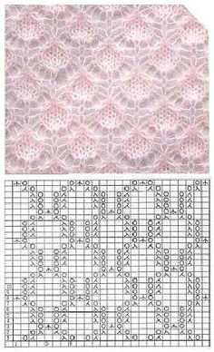 283 × 466 Pixel 283 × 466 Pixel , History of Knitting Yarn. Lace Knitting Stitches, Lace Knitting Patterns, Knitting Charts, Lace Patterns, Knitting Yarn, Free Knitting, Stitch Patterns, Knitting Projects, Knits