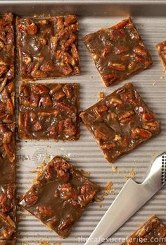 Southern Praline Bars Recipe ~ super easy, super quick and incredibly delicious!