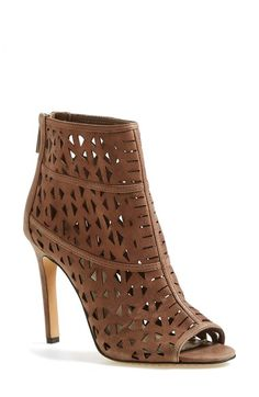 Vince Camuto 'Kachina' Open Toe Bootie (Women) (Nordstrom Exclusive) available at #Nordstrom. I would wrestle in the mud for these shoes.