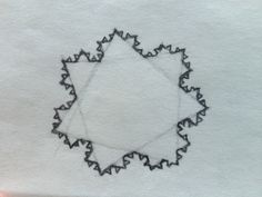 Koch snowflake from a heptagram!