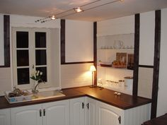 French house cottage kitchen