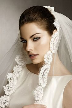 Wedding Hairstyles With Veil For Straight Hair