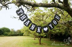 Pixnor Rectangle Chic Thank You Wedding Bunting Banner Photo Booth Garland Props Anniversary Bridal Party Decoration Paper Bunting, Bunting Banner, Banners, Black Party Decorations, Wedding Decorations, Wedding Bunting, Anniversary Decorations, Bridal Shower Gifts, Festival Party