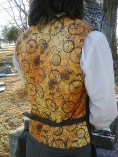 Time Traveler's Vest  Steampunk Vest  Made by engineerandthegypsy, $80.00