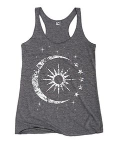 Another great find on #zulily! Athletic Heather Celestial Racerback Tank by Sharp Wit #zulilyfinds