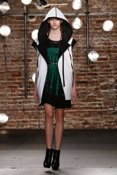 Kenneth Cole, Spring 2014, most awesome look ever.