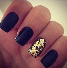 Black and Glitter!