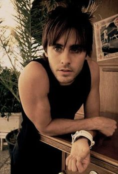 "This morning, at the hotel:    Jared Leto: ""What if I fell to the floor? Couldn't take all this anymore. What would you do do do?""  Me: ""Why Jared, I could think of a million things.""  Jared: ""Look in my eyes. You're killing me, killing me. All I wanted was you.""  Me: I know, Jared. That's why we're here.  Jared: ""Ah, ah. Oh, oh. Ah, ah...I'm not running from you.""  Me: That'a boy."