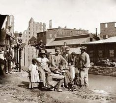 Freed Slaves 1865    I absolutely love this photo.