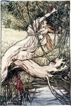 Ophelia - Arthur Rackham