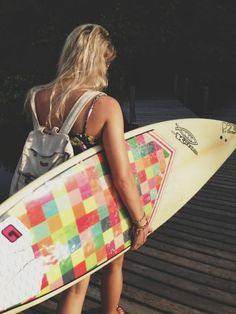 Love the Board art! To be the surf girl I only dreamed about