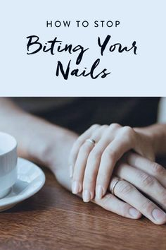 Breaking up with a bad habit is hard to do and nail-biting is no different. Once we employed these seven tips, our hands went from looking like those of a nervous to those of an actual grown-up with a and a mortgage. Give it a whirl. Gel Nails, Acrylic Nails, Manicure, Natural Antifungal, Tongue Health, Nail Care Tips, Nail Tips, Skin Care Routine For 20s, Nail Biting