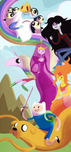 Adventure Time: Finn and Jake by SketchprinterDemon.deviantart.com on @deviantART