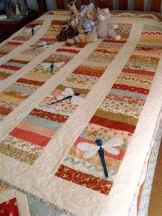 Dragonflight (Quilt-as-you-go)