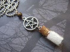 Supernatural STRENGTH Hunter Protection Pentagram Salt by AngelQ, $11.95