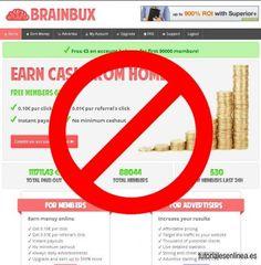 Brainbux Es Una Estafa-Scammer » Tutoriales En Linea