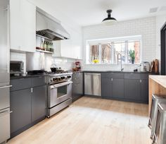 48 tiffany place, kitchen, brooklyn, townhouse, columbia street waterfront