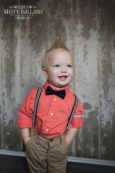 boy bow tie suspenders set, navy bow tie suspenders set, baby boy suspenders, baby boy photography prop, summer