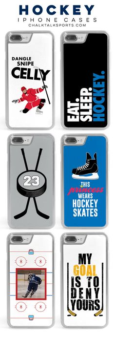 Protect your phone in the perfect decorative Hockey phone case! We know you'll love our latest designs as well as some classics Hockey Goal, Hockey Rules, Funny Phone Cases, Iphone Cases, Hockey Girlfriend, Hockey Bedroom, Hockey Gifts, Hockey Stuff, Hockey Party