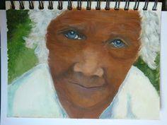 Acrylic painting..