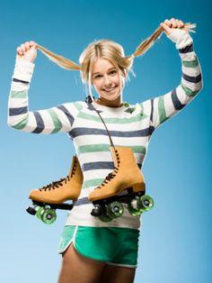 Roller skating- yep - every Friday night:)
