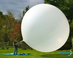 This professional meteorological weather balloon is great for tethered and free-floating aerial photography, videography, and science projects. Aerial Photography, Vintage Photography, Weather Balloon, Weather Instruments, Little Bit Of Love, White Balloons, Weird Science, Picture Day, Morning Pictures