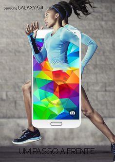"""Trabalho realizado para a matéria de """"Direção de arte"""" que tinha como objetivo alinhar a performance do celular com a velocidade do celular. Programa utilizado foi o Adobe Photoshop"""