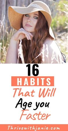 16 Habits That Accelerate the Aging Process : Habits you practice may be aging you. Check these 16 habits that age you and age you mind body, as well as outward appearance. Choose habits that help you to age gracefully. Wellness Tips, Health And Wellness, Women's Health, Mental Health, Holistic Wellness, Healthy Lifestyle Tips, Healthy Habits, Lifestyle Group, Natural Lifestyle