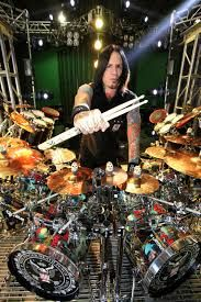 metal drum set gold silver - Google Search