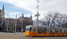 Travelling by Budapest public transport is an easy way to get to know the city. Find the best Budapest travel tips to get familiar with the city metro lines, trams, buses, trolleys as well as taxis. Rail Europe, Budapest Travel, Light Rail, Commercial Vehicle, Public Transport, Coaches, Trains, Transportation, Travel Tips