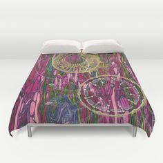 The Velocity of the Venom Antidote (Aligning Forces) Duvet Cover. Jodi Bee. Society 6. $99.