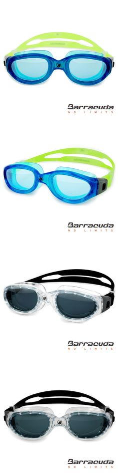 Barracuda Swim Goggle MANTA Oversize Triathlon Open Water Anti-Fog UV Protection Easy Adjusting for Adults Men Women #13520