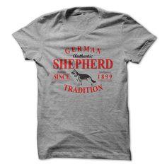 German Shepherd Tradition T Shirt #GermanShepherd #dogs