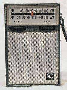 Transistor radio..