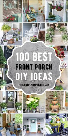 Summer Front Porches, Small Front Porches, Farmhouse Front Porches, Summer Porch, Porch Columns, Porch Steps, Diy Porch, Small Porch Decorating, Decorating Ideas