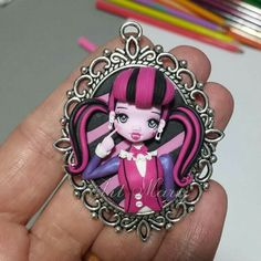 Draculaura in fimo, polymer clay