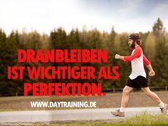 #Dranbleiben ist wichtiger als #Perfektion. #Daytraining #Fitness #Training…