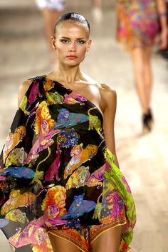 Ungaro Georgous coloured fabric and a touch of bling  . . .