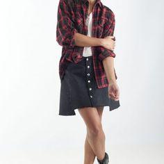 jupe-trapèze-rock-femme-tendance