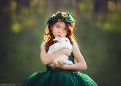 Волшебные детские портреты от Лизы Холлоуэй